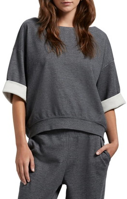 Michael Stars Westwood Double Face Knit Top