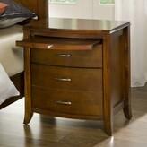 Crediton Wooden 3 Drawer Nightstand Winston Porter