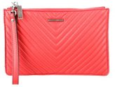 Rebecca Minkoff Quilted Leather Clutch