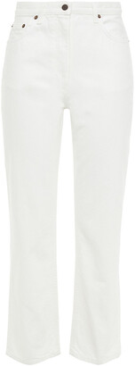 The Row Charlee High-rise Straight-leg Jeans