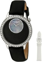 Stuhrling Original Women's 336.12151Set Vogue Audrey Radiant Swiss Quartz Mother-Of-Pearl Dial Watch Set