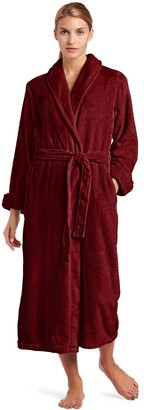 Casual Moments Women's 50 Inch Set-in Belt Robe