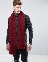 Dr. Martens Knitted Scarf Red