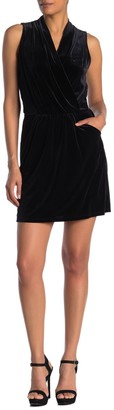 Rachel Roy Isabella Velvet Mini Dress