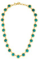 Gurhan Turquoise Met Collar Necklace