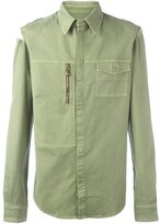 Versus zip pocket shirt