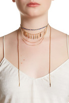 Stephan & Co Wraparound Layered Chain Necklace