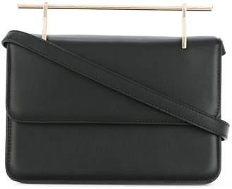 M2Malletier metallic handle shoulder bag