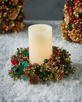 Salzburg Creations Tartan Cheer Candle Ring