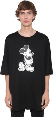 TAKAHIROMIYASHITA TheSoloist. Over Mickey Mouse Print Jersey T-Shirt