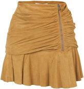 Veronica Beard gathered effect skirt