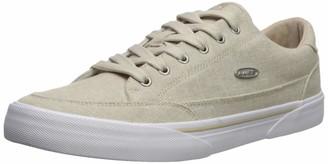Lugz Men's Stockwell Linen Sneaker Dark Grey/White 10.5 D US