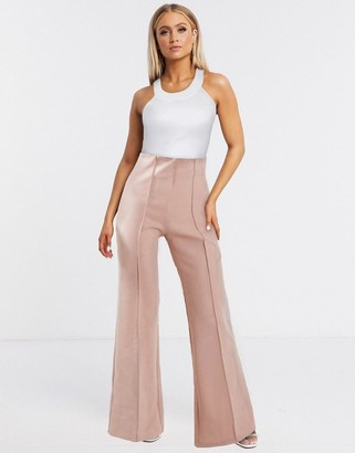 Aq/Aq AQAQ tailored pants In light pink