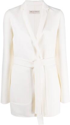 Emilio Pucci Belted Wool Coat