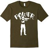 Kids Girl Power Rifle Range Feminist T-shirt 8