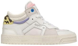 D.A.T.E Meet Nebraska Wh-Pink Sneaker
