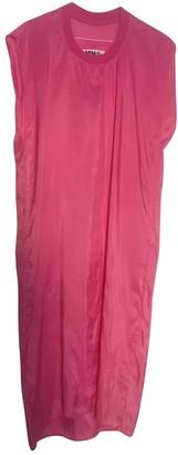 Maison Margiela Pink Synthetic Dresses