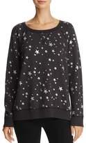 Joie Edrie Star-and-Moon Print Sweatshirt