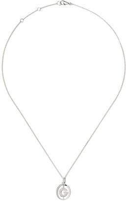 Annoushka 18kt white gold diamond initial G necklace