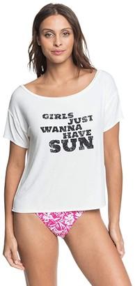 Roxy Beautiful Horizon (Snow White) Women's Clothing