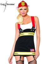 Leg Avenue Women's Backdraft Babe Firefighter Costume