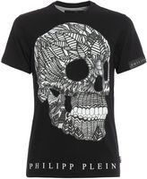 Philipp Plein Mandala Rubberised Print T-shirt