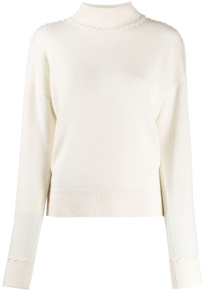 Theory turtleneck knit sweater