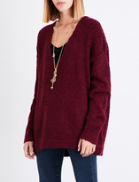 Free People Lofty knitted jumper