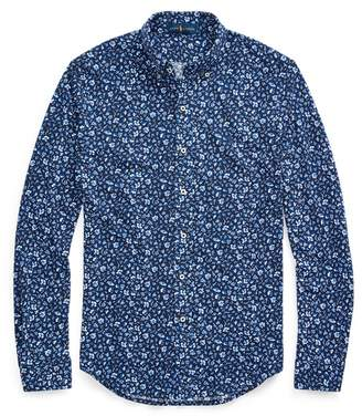 Ralph Lauren Floral-Print Mesh Shirt