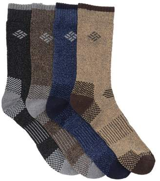 Columbia Assorted Crew Socks - Pack of 4