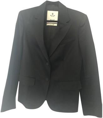 Bally Black Cotton Jackets