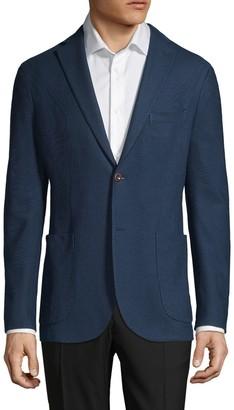 Boglioli Standard-Fit Cotton Sport Jacket