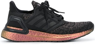 adidas Lace-Up Metallic Trainers