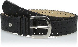 Relics Women's Scallop Edge Perforated Belt