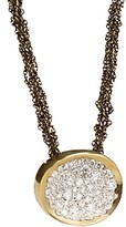Antonini 18K Yellow Gold Matera Silvermist Diamond Pendant Necklace, 16
