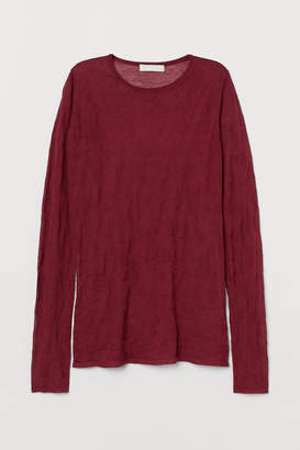 H&M Airy lyocell-blend top