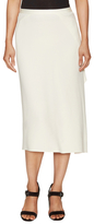 Helmut Lang Side Drape Asymmetrical Skirt