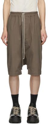Rick Owens Grey Rick Pods Shorts