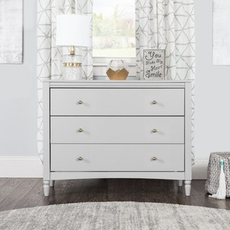 Child Craft Child 3 Drawer Dresser Color: Gray
