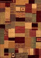 Couristan Easton Maribel Rug In Mustard-Multi - 9 Foot 2 Inch x 12 Foot 5 Inch