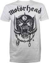 Global Motorhead Men's War Pig T-Shirt White S