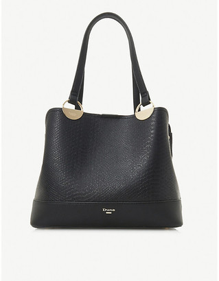 Dune Damine faux-leather tote bag
