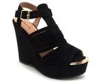 Qupid Kelsey-58 Wedge Sandal