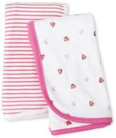 Rene Rofe Newborn Girls) Two-Pack Fruit Blankets