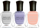 Deborah Lippmann Chasing Pavements, Lilac Wine, Peaches and Cream - New Neutral_ Pastels Set