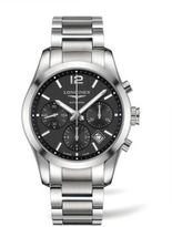 Longines Stainless Steel Chronograph Bracelet Watch