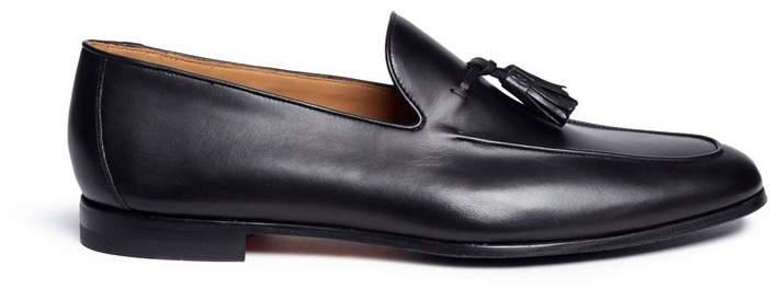 Magnanni Tassel leather loafers