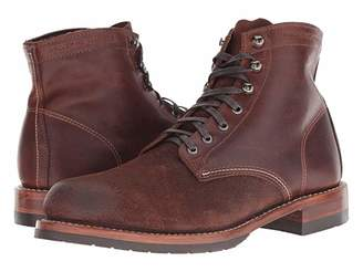 Wolverine Heritage 1000 Mile 6 Evans Boot (Dark Brown Leather/Suede) Men's Dress Lace-up Boots
