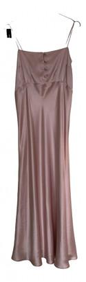 BERNADETTE Pink Silk Dresses