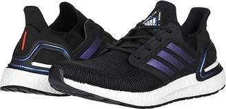 adidas Ultraboost 20 (Core Black/Boost Blue Violet Metallic/Footwear White) Men's Running Shoes